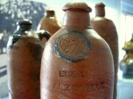 Stoneware bottles to distribute the mineral waters of Franzensbad