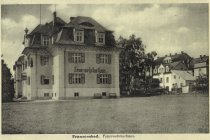 Firefighter Spa House - today's museum building - on a historical picture from the 1930s
